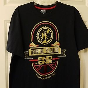 And1 tee size medium